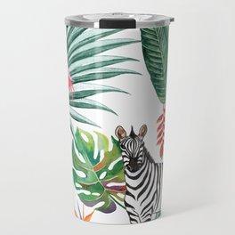 Nature Zebre pattern Travel Mug