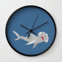 "FINconceivable Still ""Hammerhead"" Wall Clock"