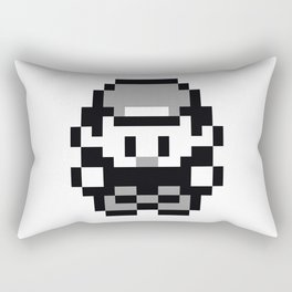Pixel Retro Pokémon Trainer Rectangular Pillow