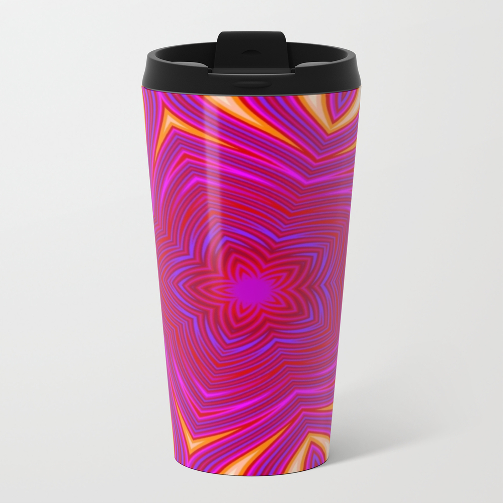 Neon Sand Dunes Travel Cup TRM9055426
