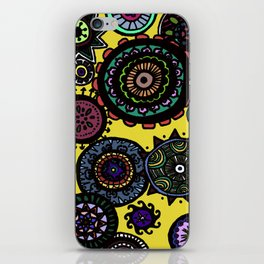 Circular designs iPhone Skin