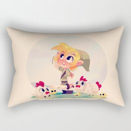 Cucco time Rectangular Pillow