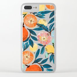 Fruit Shower Clear iPhone Case