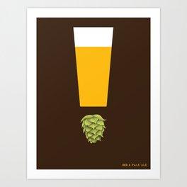 Beer: India Pale Ale Art Print