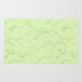 Kumori Nochi Sakura: Green Rug