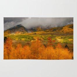 Colorado Fall Colors Rug