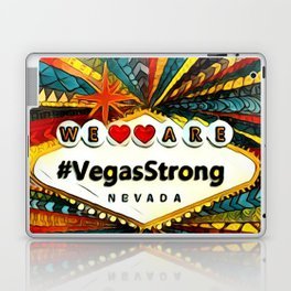 We Are VegasStrong Laptop & iPad Skin