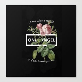 Harry Styles Only Angel graphic artwork Canvas Print