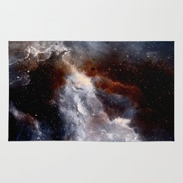 Dust, hydrogen, helium and other ionized gases Rug