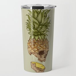 Pineapple Skull Travel Mug