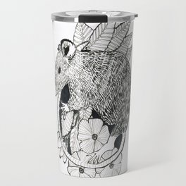 autumn rat Travel Mug