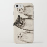 believe iPhone & iPod Cases featuring The Owl's 3 by Isaiah K. Stephens