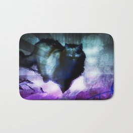 The Spooky Cat Bath Mat