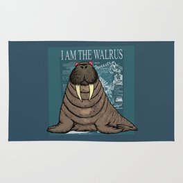 I Am the Walrus Rug