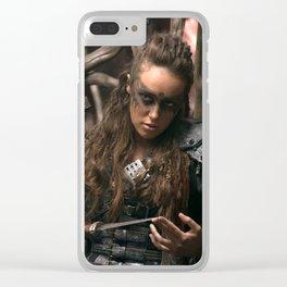 Lexa 02 Clear iPhone Case