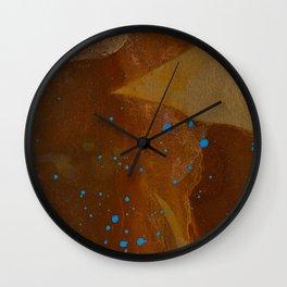 joelarmstrong_rust&gold_082 Wall Clock