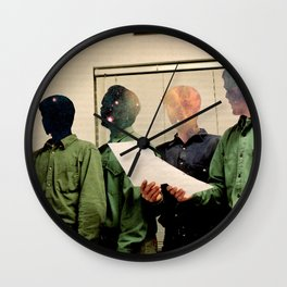 Space Face Wall Clock