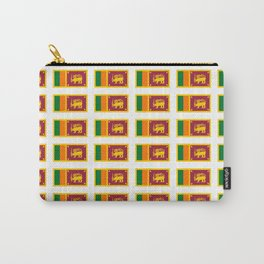 flag of sri lanka- ශ්‍රී ලංකා,இலங்கை, ceylon,Sri Lankan,Sinhalese,Sinhala,Colombo. Carry-All Pouch