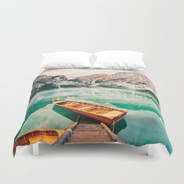 While We Are Young Duvet Cover