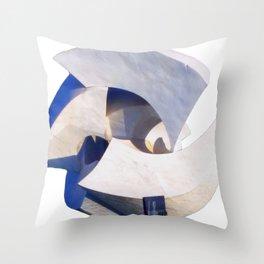 Brasilia Sculpture Throw Pillow