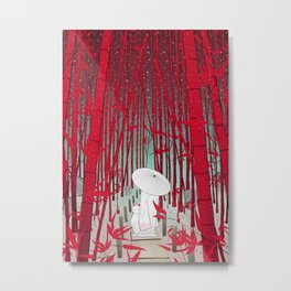 Yuki- onna Metal Print