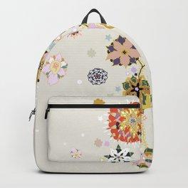 Rococo wall Backpack