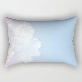 Dreamy Cotton Blue Sky Rectangular Pillow