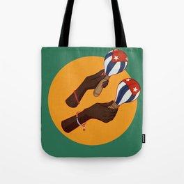 Cuban Maracas Tote Bag