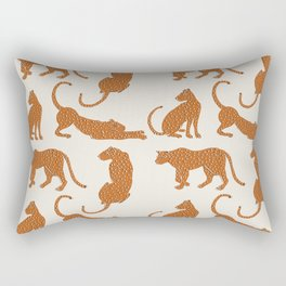Leopard Block Party Rectangular Pillow