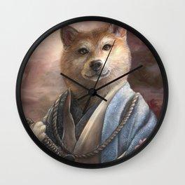 Yamaninu Keishiba Wall Clock