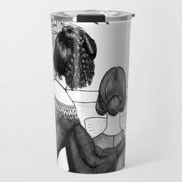 Inktober2016: Socialite witch Travel Mug