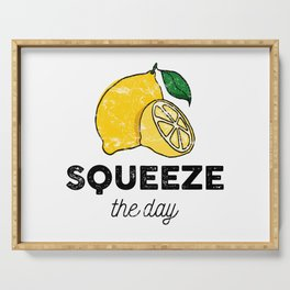 Squeeze the Day Serving Tray