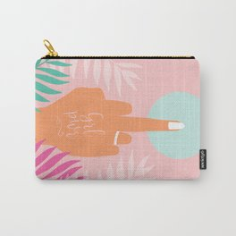 Grl Pwr #girlpower #feminist #society6 Carry-All Pouch
