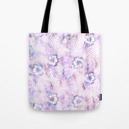 Hula Hibiscus Washout Tote Bag