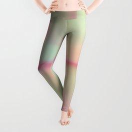 """Sherbert"" Colored Abstract Design Leggings"