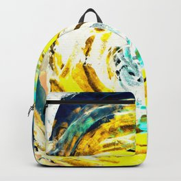 Yellow twister Backpack