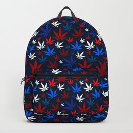 American Weed Pattern Backpack