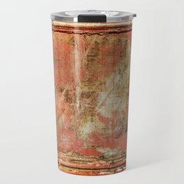 Red Panel Travel Mug