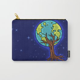 SPACE EARTH TREE Carry-All Pouch