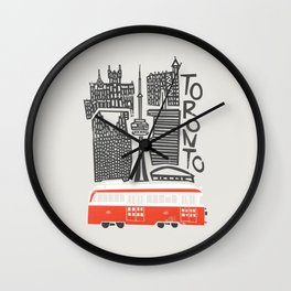 Toronto Cityscape Wall Clock