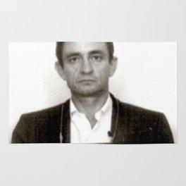 Johnny Cash Mugshot Rug