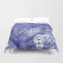 Lions Duvet Cover