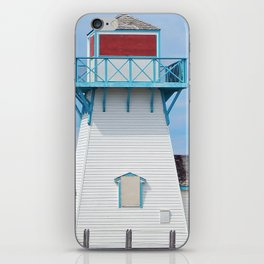 Boarded  Up Lighthouse in Summerside iPhone Skin