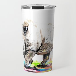 Sudan the last male northern white rhino Travel Mug