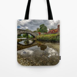 Welsh Cottage Tote Bag
