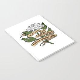 Handmaid's Tale - NOLITE TE BASTARDES CARBORUNDORUM (color) Notebook