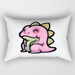 Pink Gorilla X Enfu Gojima Rectangular Pillow