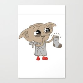 Dobby Canvas Print