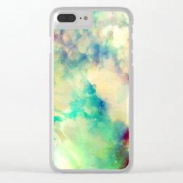 Fume Color Splash 02 Clear iPhone Case