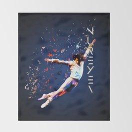 Fanfare for Nureyev Throw Blanket